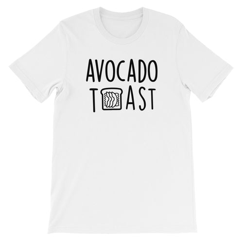 Avocado Toast: White Men's T-Shirt
