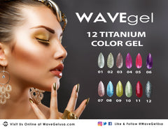 Wave Gel Titanium Collection