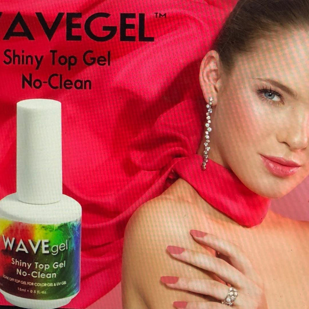 Wave Gel No Clean Top Coat - The Nail Art Connection by Tess Walters - Tess Nails.com