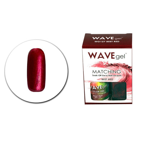 Beet Red Matching Polish WG127 - The Nail Art Connection by Tess Walters - Tess Nails.com