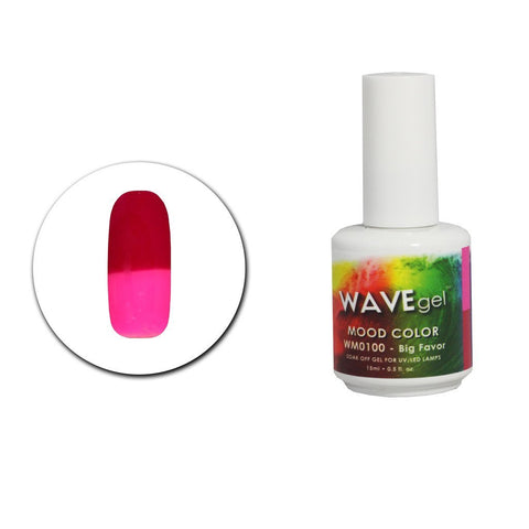 Big Flavor Mood Gel Polish WM100 - The Nail Art Connection by Tess Walters - Tess Nails.com