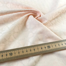 Summer Peach Jacquard Stretch Cotton from Stitchy Bee