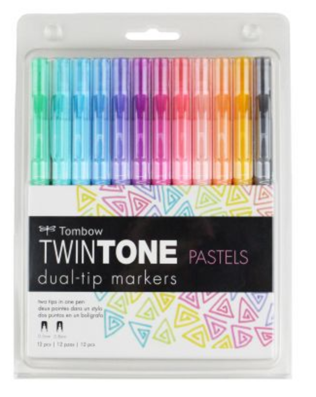Tombow TwinTone Pastel pack