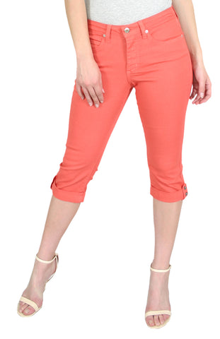 TrueSlim™ Capri with Stone Trim Coral