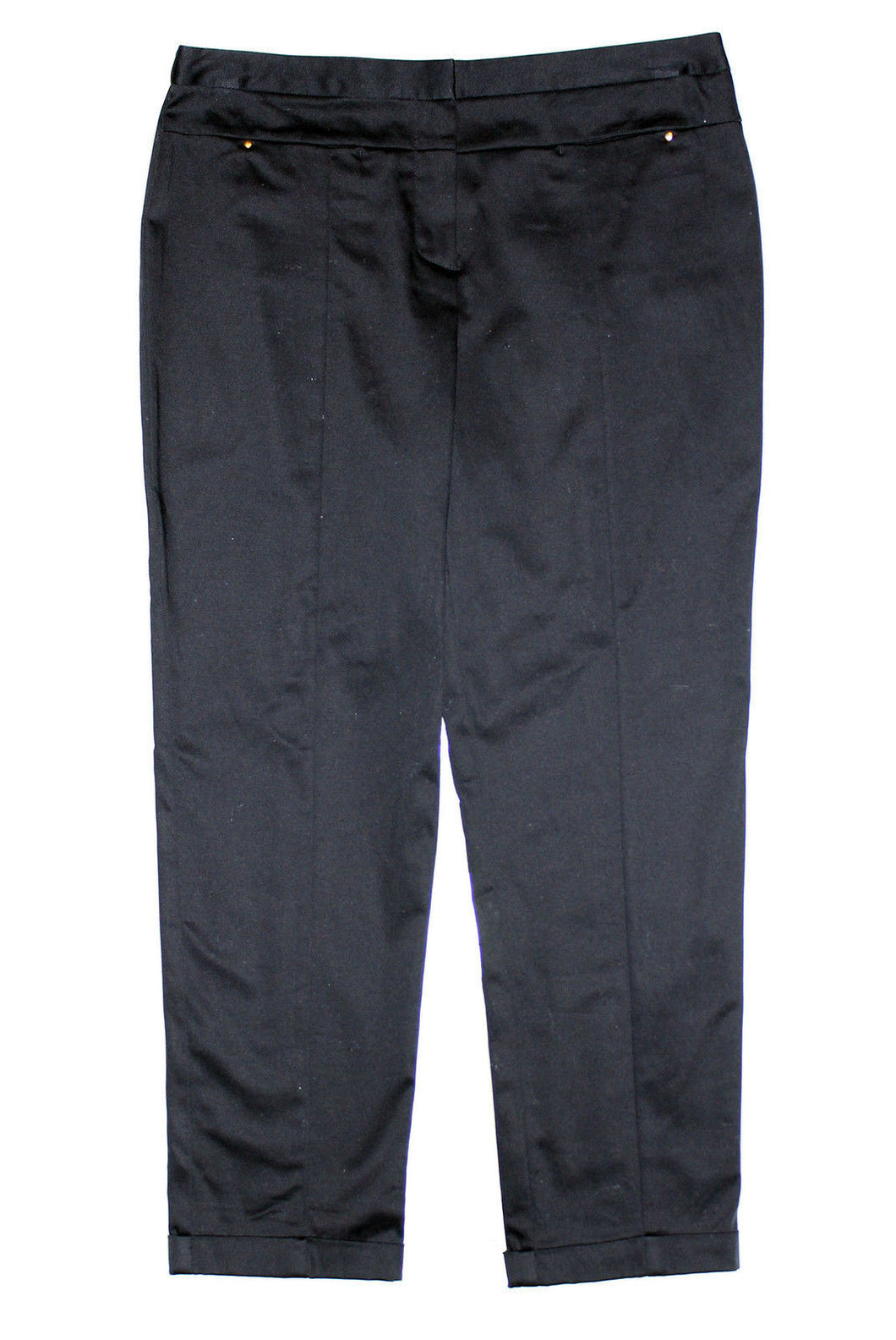 Style & Co Black Slim Leg Ankle Length Casual Pants