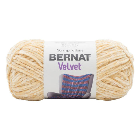 Bernat - Velvet Yarn - Soft Sunshine