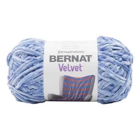 Bernat - Velvet Yarn - Smokey Blue