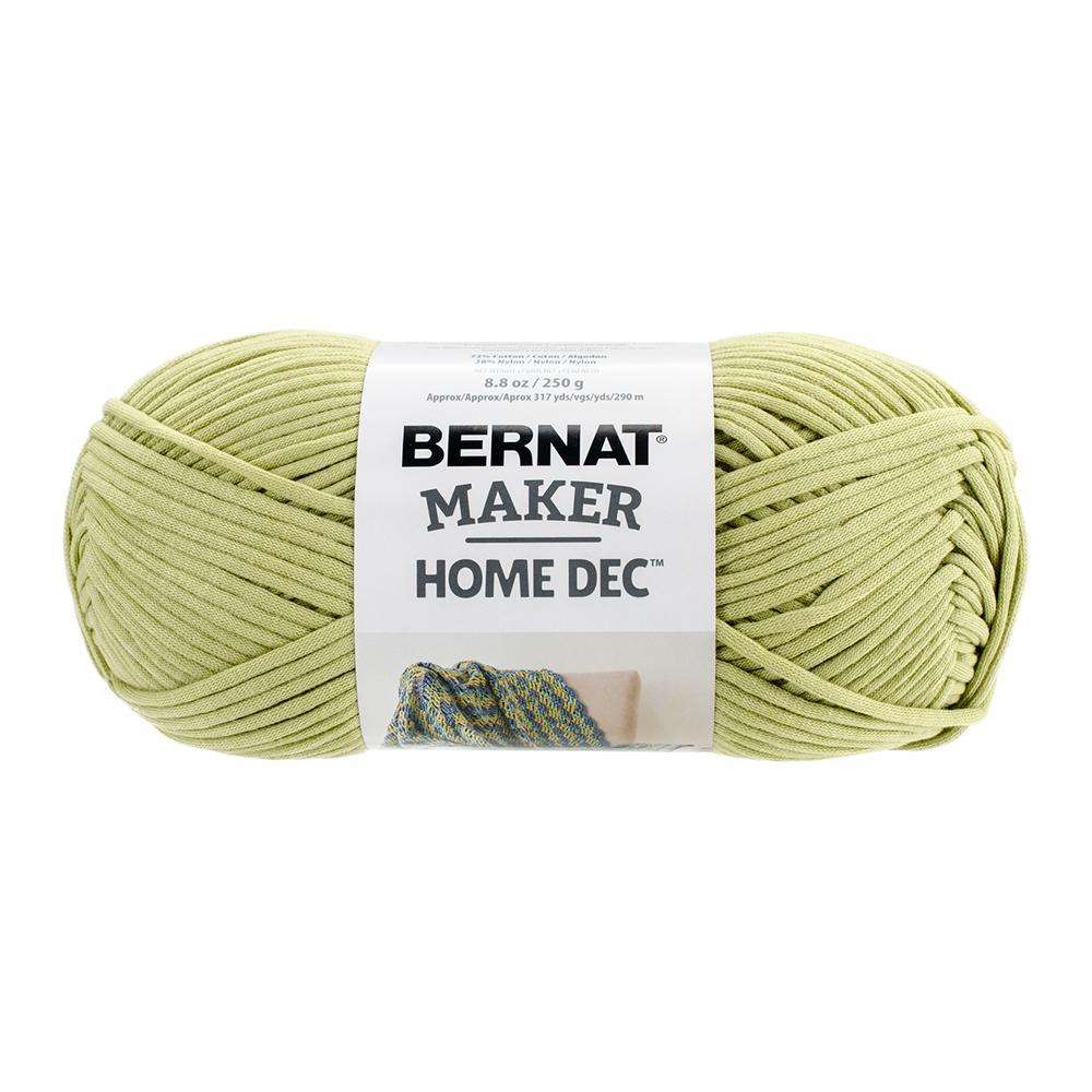 Bernat Maker Home Dec Yarn - Green Pea