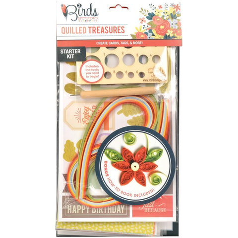 Birds Studio - Quilling Tool Starter Kit 183pcs