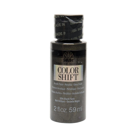 FolkArt Colour Shift Paint 2 oz - Black Flash