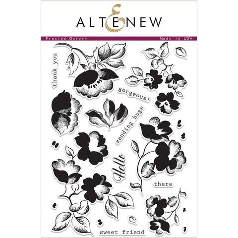 Altenew Stamp Set - Frosted Garden