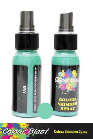 Colour Blast - Colour Shimmer Spray - Envy