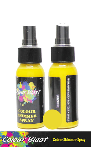 Colour Blast - Colour Shimmer Spray - Sunshine