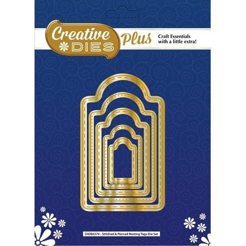 Creative Dies Plus - Stitched & Pierced Nesting Tags