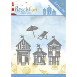 Find It Trading Jeanines Art Beach Fun Die - Beach Houses