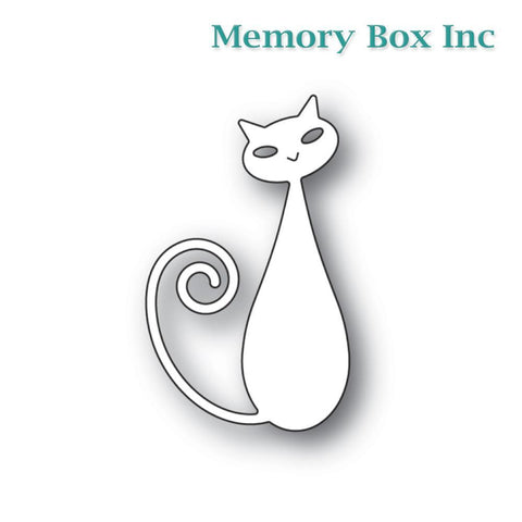 Memory Box - Cool Cat craft die