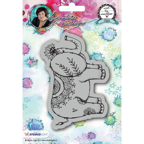 Art By Marlene 2.0 Animals Cling Stamp - Elephant
