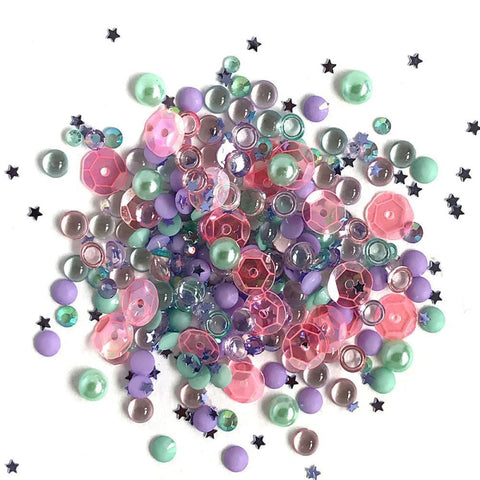 Buttons Galore - Sparkletz Embellishment Pack 10g - Mermaid