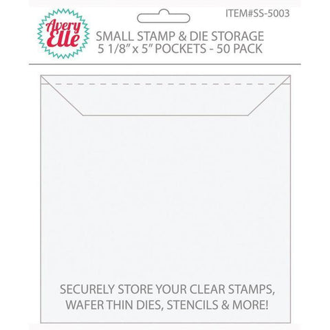 Avery Elle - Stamp & Die Storage Pockets - Small (50 Pk)