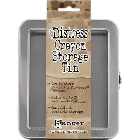 Ranger / Tim Holtz Distress Crayon Storage Tin - Empty (Holds 34)