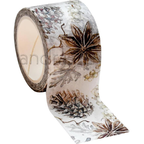 Alexandra Renke Christmas Wreath Washi Tape 30mmX10m - Anise