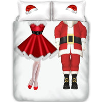 Mr & Mrs Clause Duvet Set