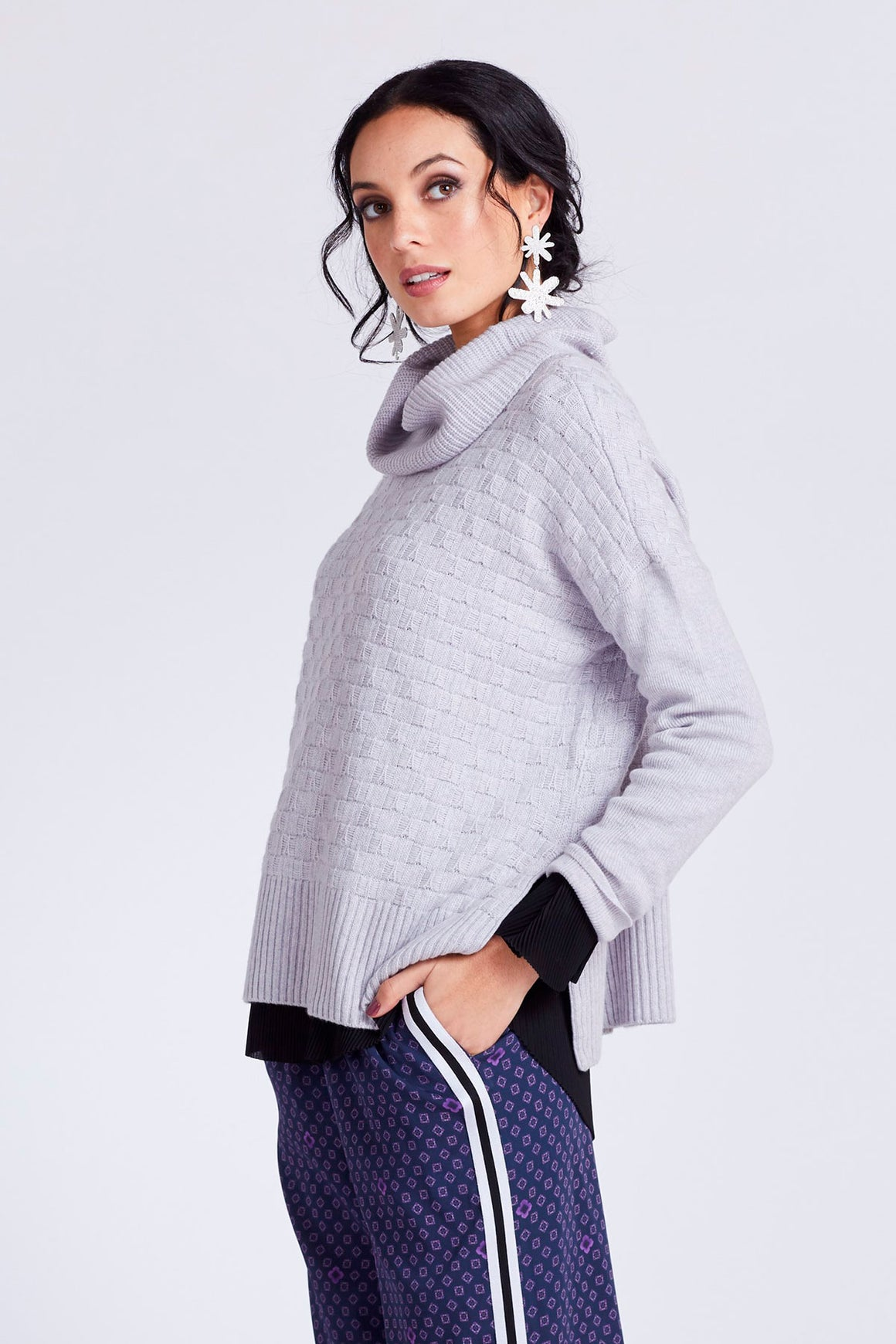 Loobies Story Margaux Sweater - Mist