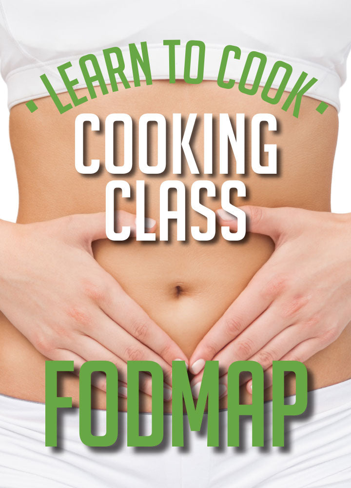 Introduction to FODMAP - Cooking Demonstration<br>SAT 13th July