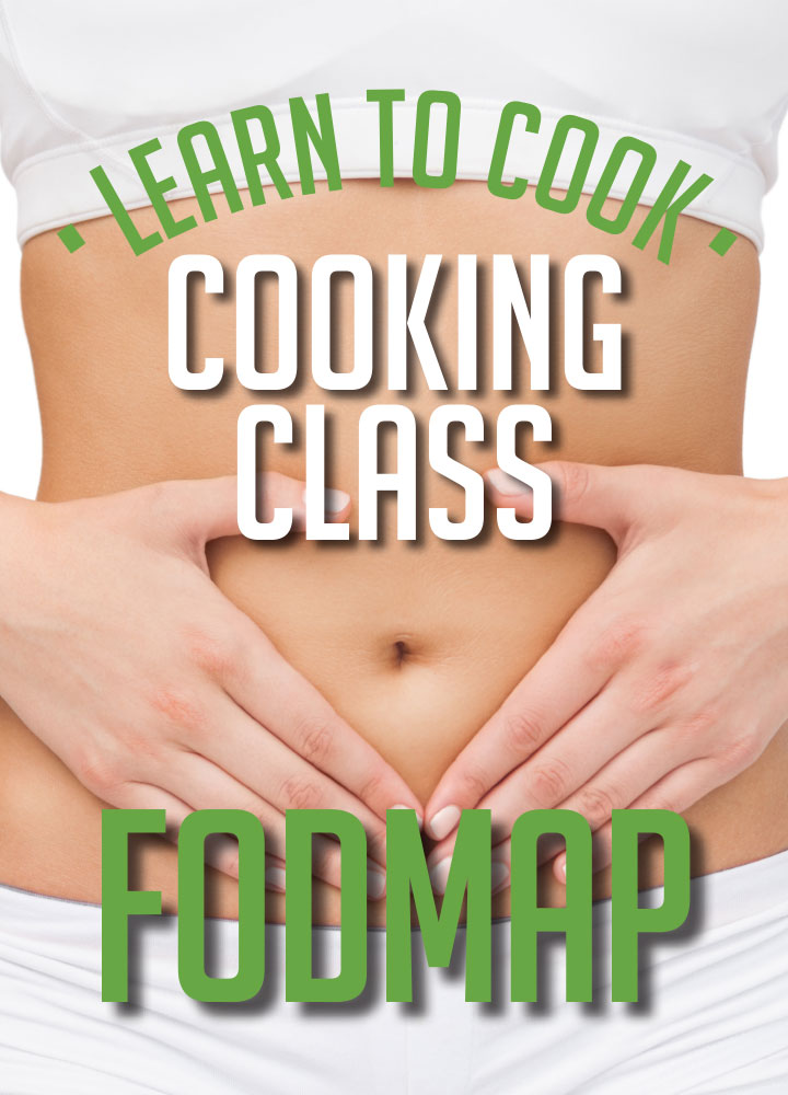 FODMAP Dinner Masterclass<br>SAT 10th August