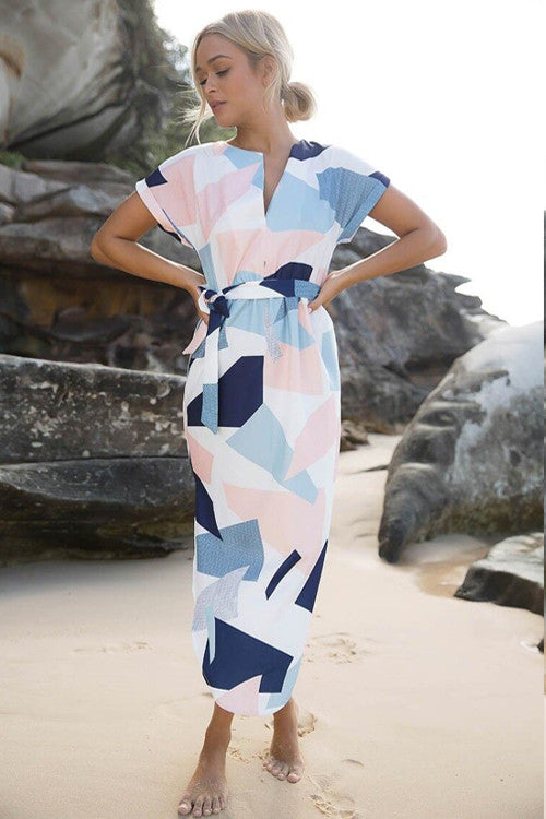 Women Geometric Print  Dress
