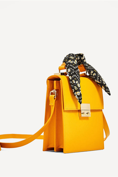 City Bag with Scarf