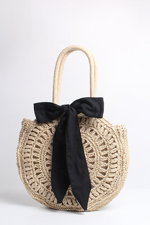 Hollow-Out Bowknot Bag