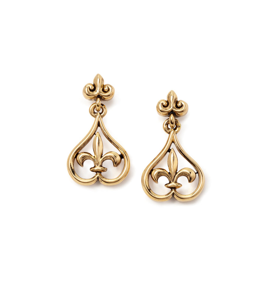 18k Gold Plated Peardrop Earrings featured image