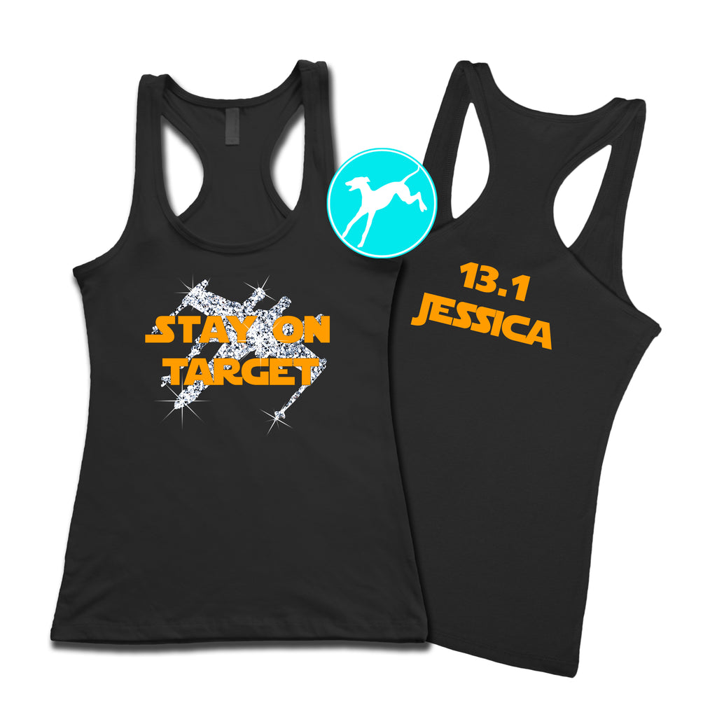 Disney Star Wars stay on target personalized tank