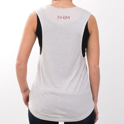 Brave Tank [Heather Dust] - NHiM Apparel