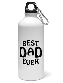Best Dad Ever Father Day Gift Water Sipper Sports Bottle