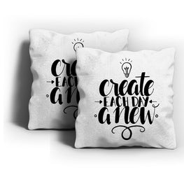 Create Each Day New Cushion Cover