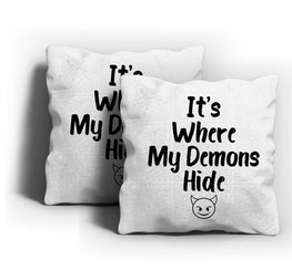 My Demons Cushion Cover