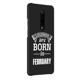 Legends February OnePlus 7 Pro Cover Case