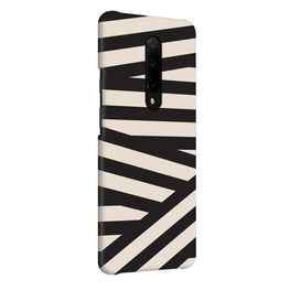 Geometry Stripes OnePlus 7 Pro Cover Case (For Girls)