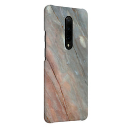 Red Grey Veins OnePlus 7 Pro Cover Case