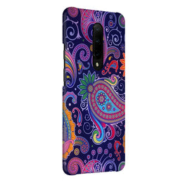 Designer Paisley Multicolor OnePlus 7 Pro Cover Case (For Girls)