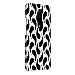Black White Fishy OnePlus 7 Pro Cover Case (For Girls)