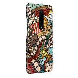 Cinema Doodles Grafffiti OnePlus 7 Pro Cover Case