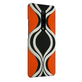 Black Orange Graffiti OnePlus 7 Pro Cover Case (For Girls)