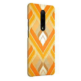 Printed Fabric Pattern OnePlus 7 Pro Cover Case