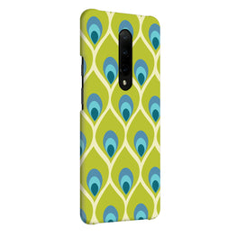 Green Blue Peacock OnePlus 7 Pro Cover Case