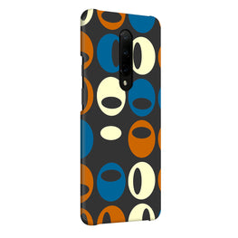 Multicolor Circles Pattern OnePlus 7 Pro Cover Case