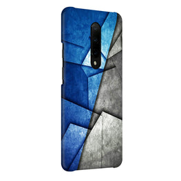 Grunge Geometry Pattern OnePlus 7 Pro Cover Case