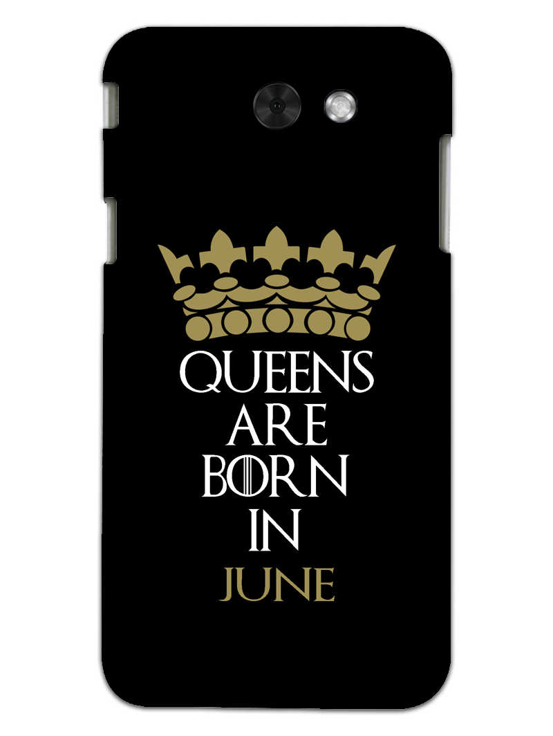 Queens June Samsung Galaxy J3 2017 Mobile Cover Case